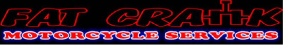 Mobile Motorcycle Mechanic - Fat Crank Motorcycle Services